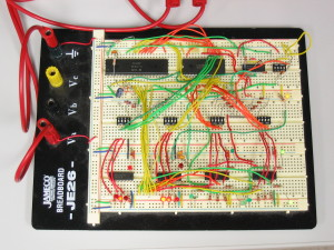 OSI-300 Trainer Breadboard Version (Top View)