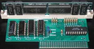 4/8MB 72-pin SIMM adapter